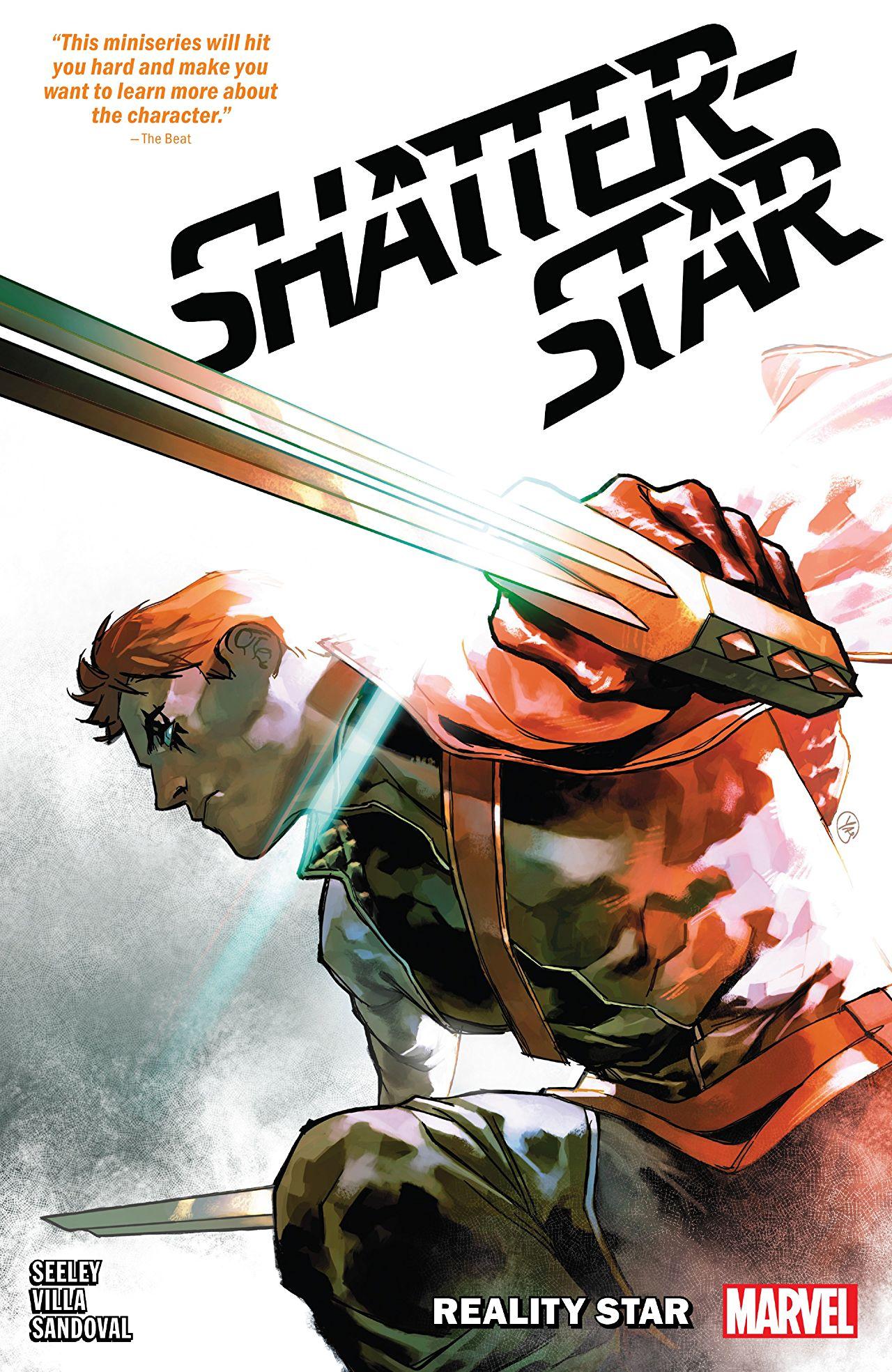 Shatterstar: Reality Star (Trade Paperback)