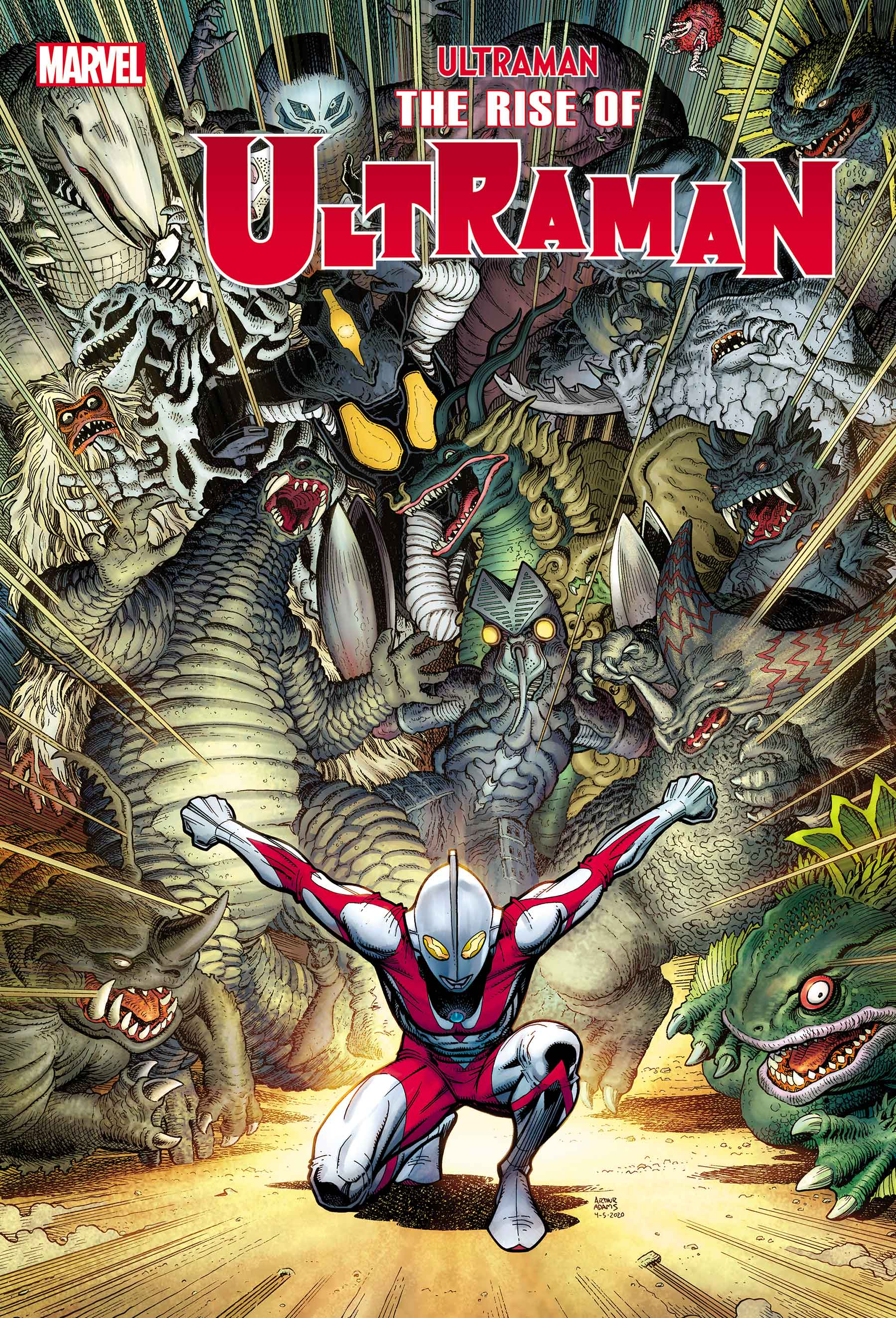 The Rise of Ultraman (2020) #2 (Variant)