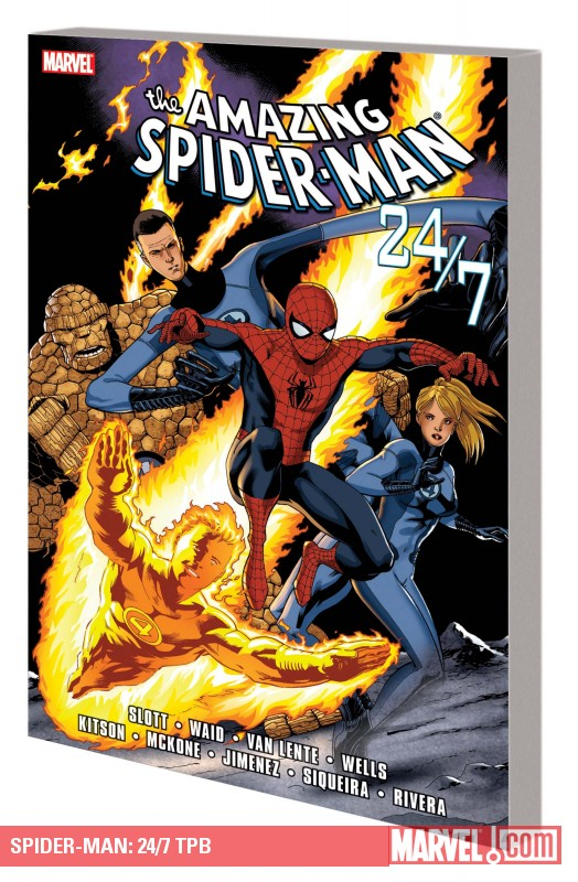 Spider-Man: 24/7 (Trade Paperback)