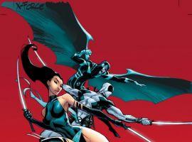 Image Featuring Wolverine, X-Force, Archangel, Deadpool, Fantomex