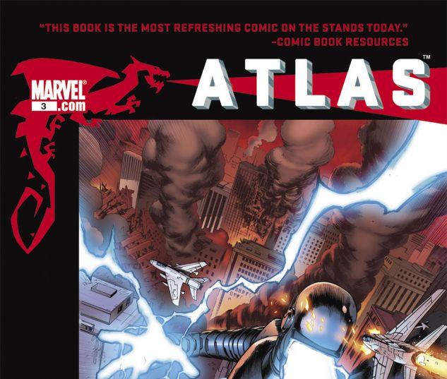 ATLAS (2010) #3 Cover
