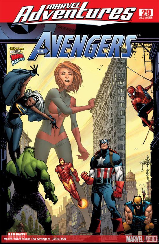Marvel Adventures the Avengers (2006) #29