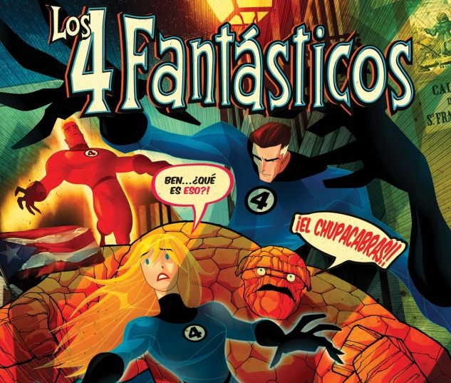 Fantastic Four: Isla De La Muerte! (Spanish Language Edition) (2008) #1