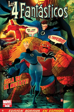 Fantastic Four: Isla De La Muerte (Spanish Language Edition) #1