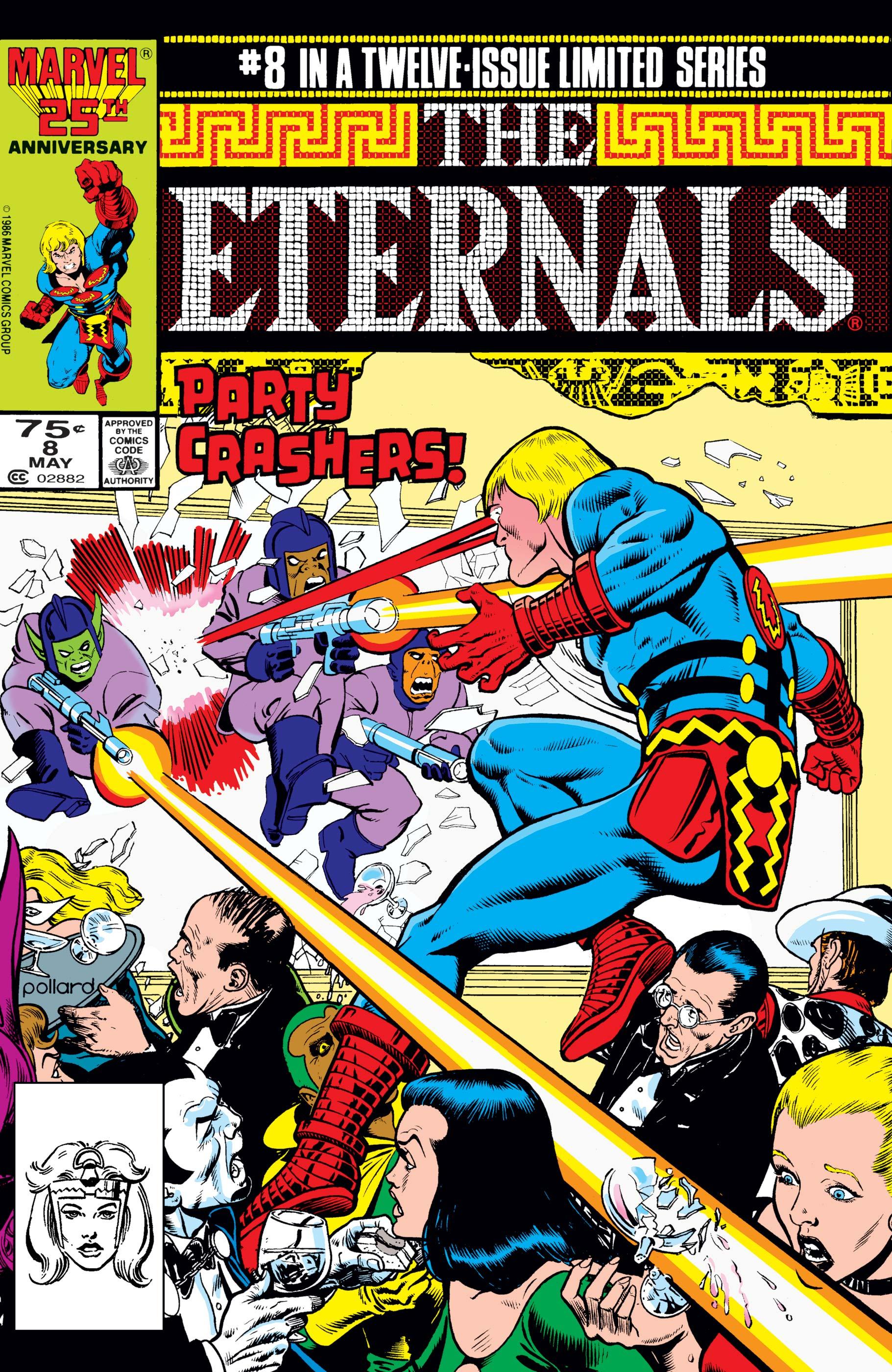 The Eternals (1985) #8