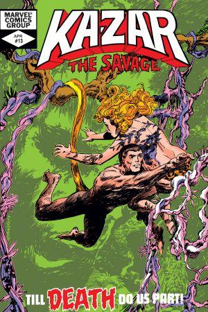 Ka-Zar (1981) #13