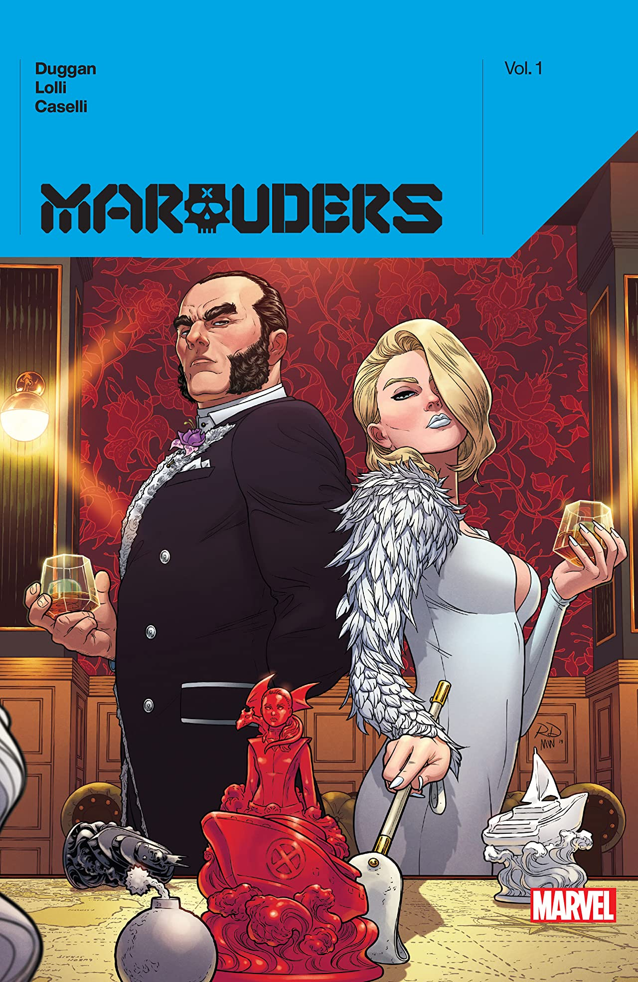 Marauders By Gerry Duggan Vol. 1: Collection (Hardcover)