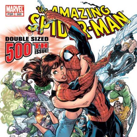 AMAZING SPIDER-MAN (2003) #500 COVER