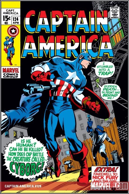 Captain America (1968) #124