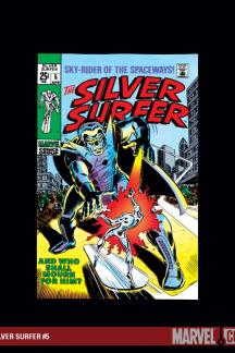 Silver Surfer (1968) #5
