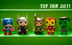 Teaser of Funko's Pop! Marvel Bobble Heads at Toy Fair 2011