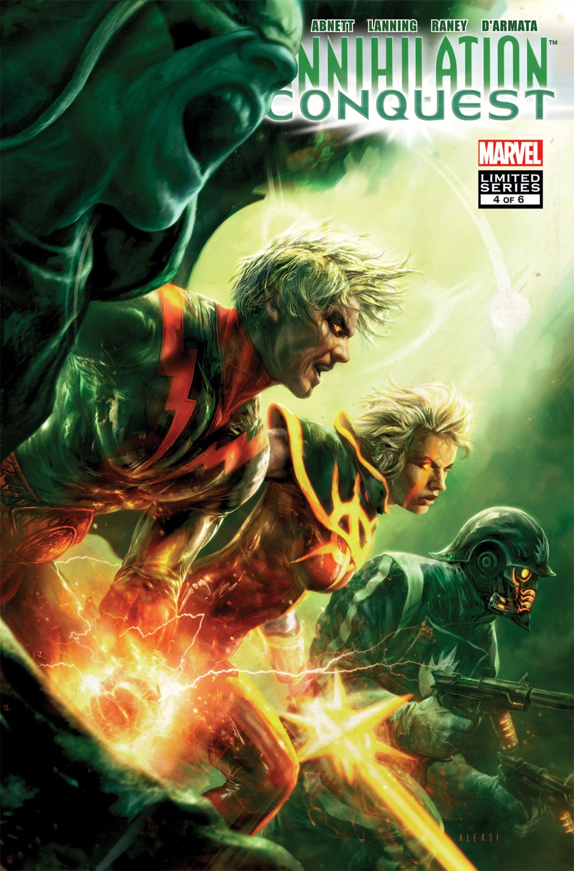 Annihilation Conquest Wraith #4 December 2007 Marvel