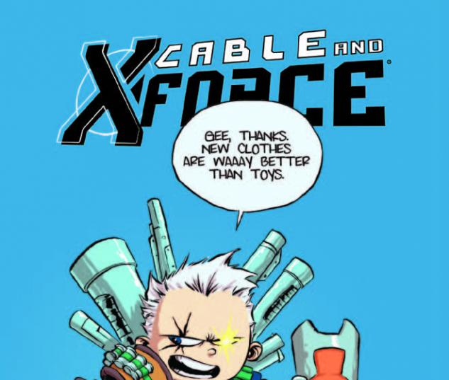 Cable and X-Force (2012) #1, Young Variant