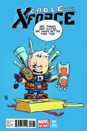 Cable and X-Force (2012) #1 (Young Variant)