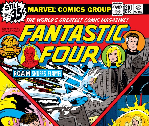 Fantastic Four (1961) #201 Cover