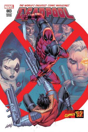Deadpool (2015) #3 (Liefeld Marvel 92 Variant)