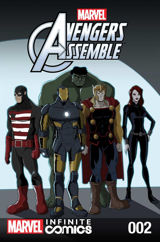 Marvel Universe Avengers Infinite Comic (2016) #2