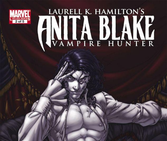 ANITA BLAKE: CIRCUS OF THE DAMNED - THE CHARMER (2010) #2 Cover