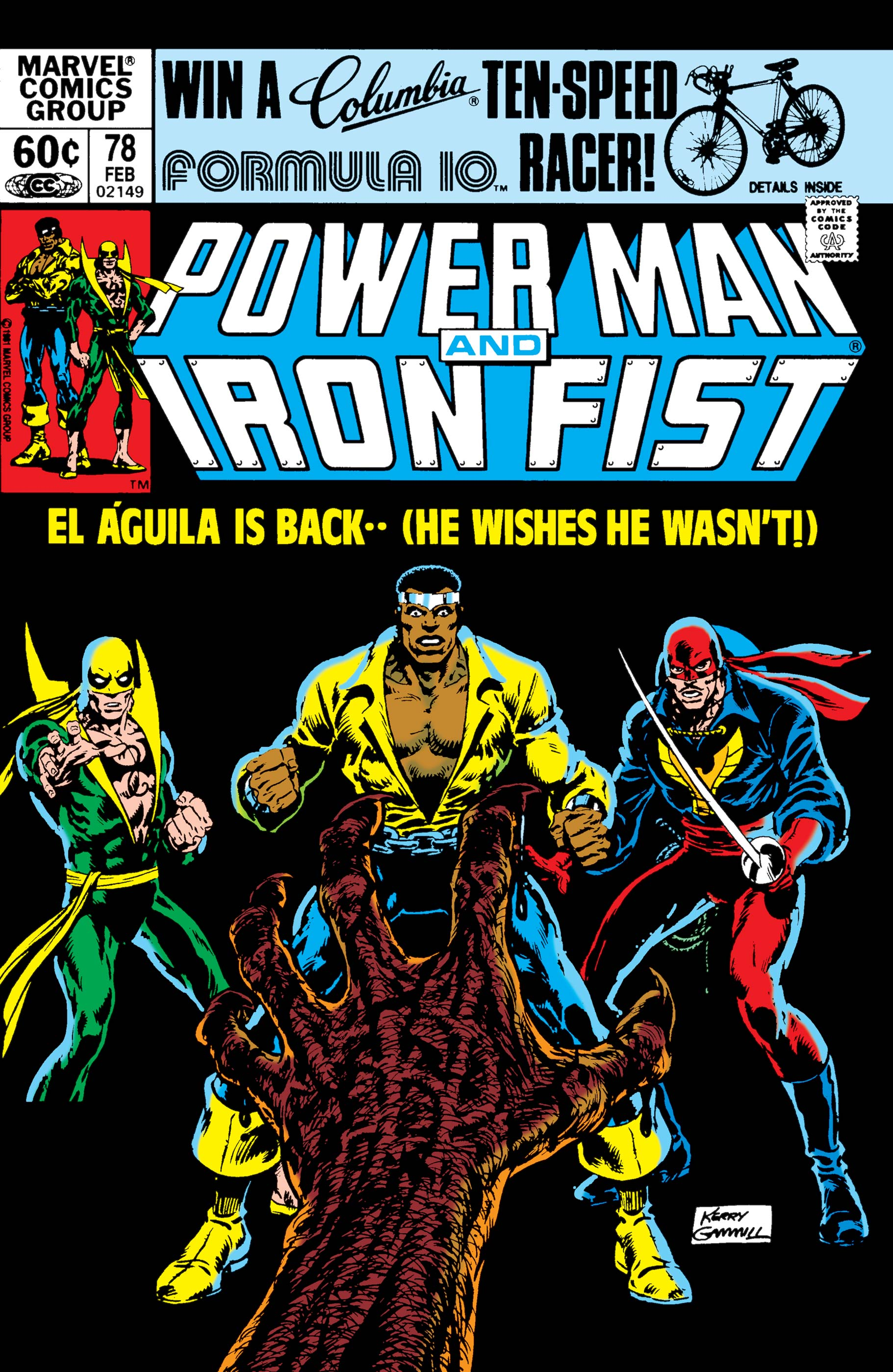 Power Man and Iron Fist (1978) #78