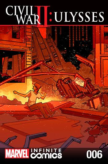 CIVIL WAR II: ULYSSES INFINITE COMIC (2016) #6