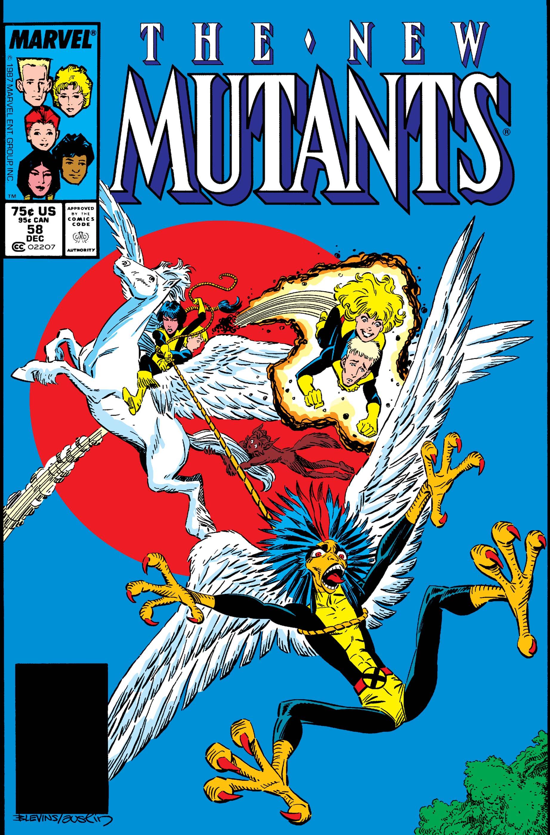 New Mutants (1983) #58