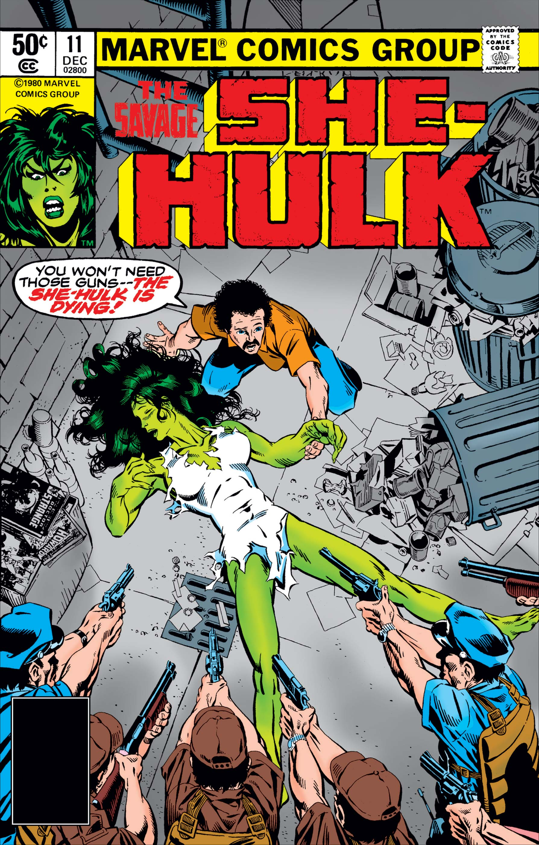 Savage She-Hulk (1980) #11