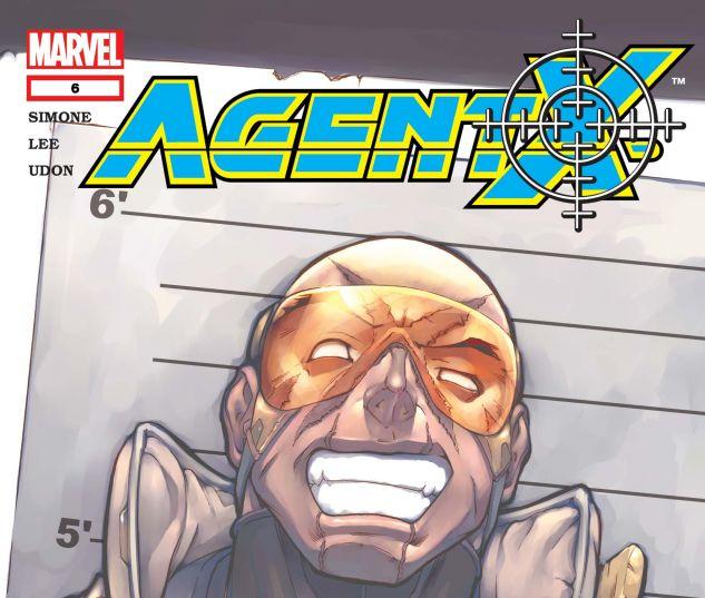 AGENT X (2002) #6