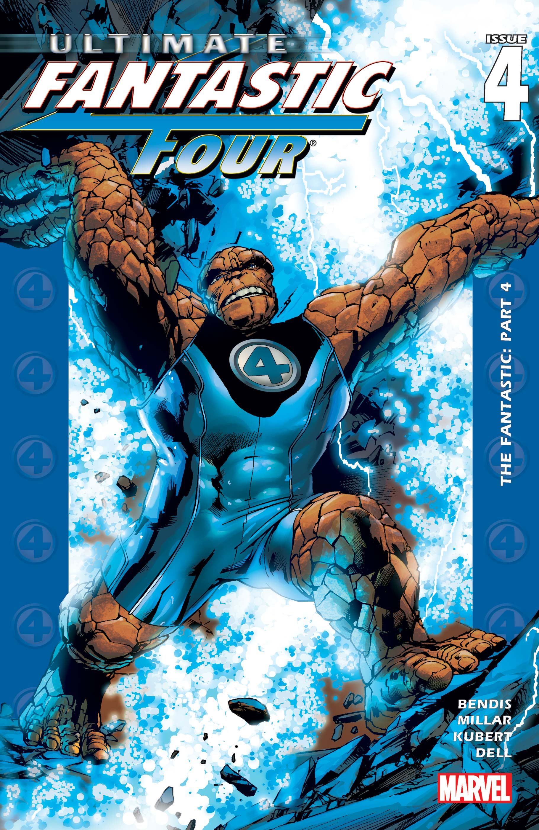 Ultimate Fantastic Four (2003) #4