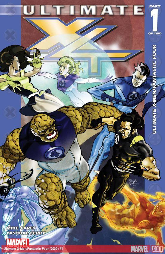 Ultimate X-Men/Fantastic Four (2005) #1