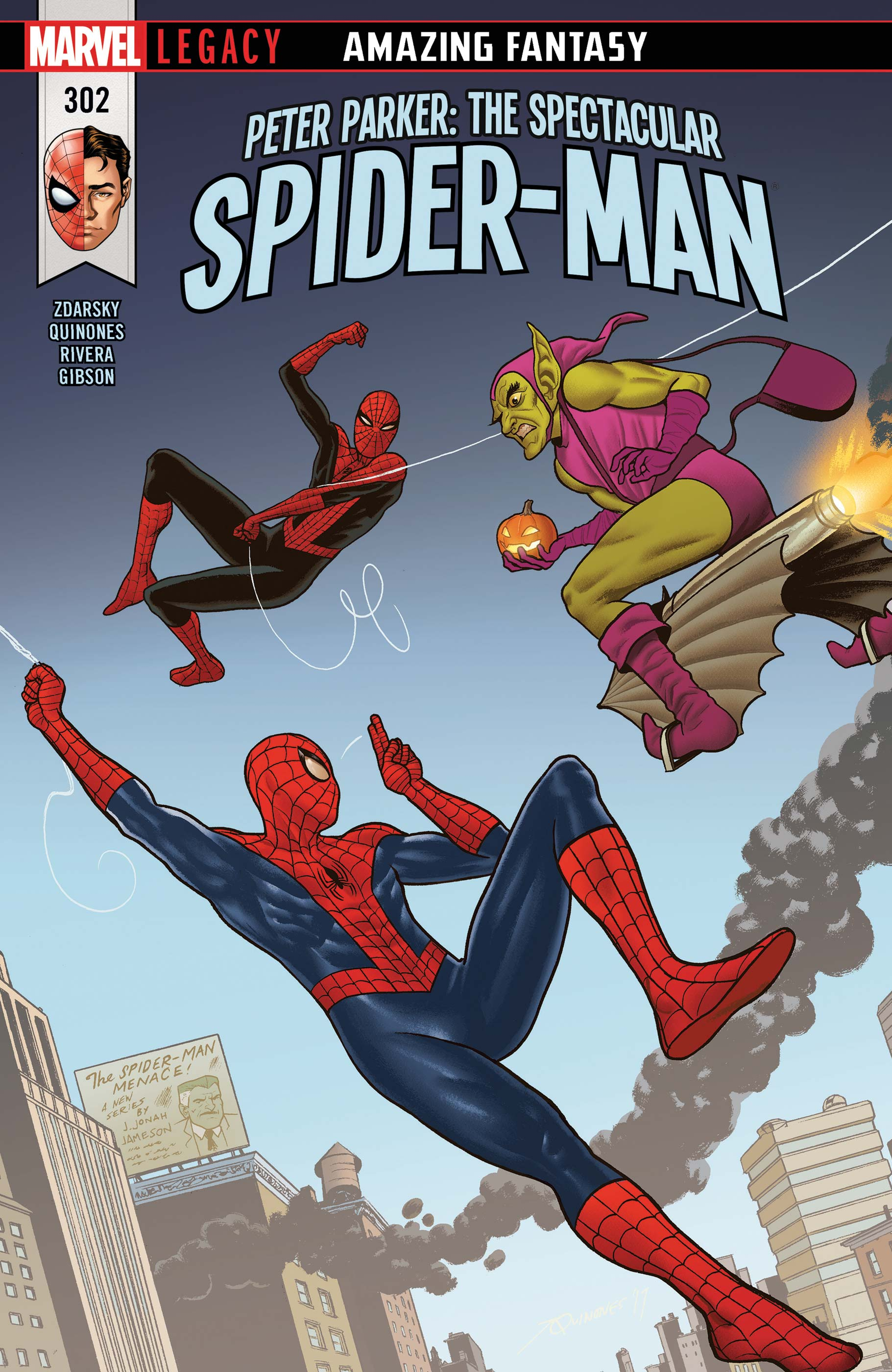 Peter Parker: The Spectacular Spider-Man (2017) #302