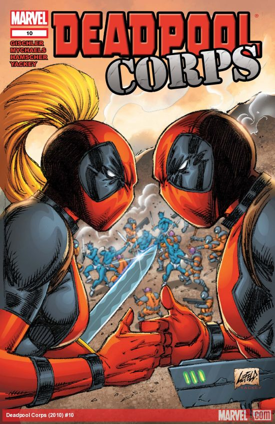 Deadpool Corps (2010) #10