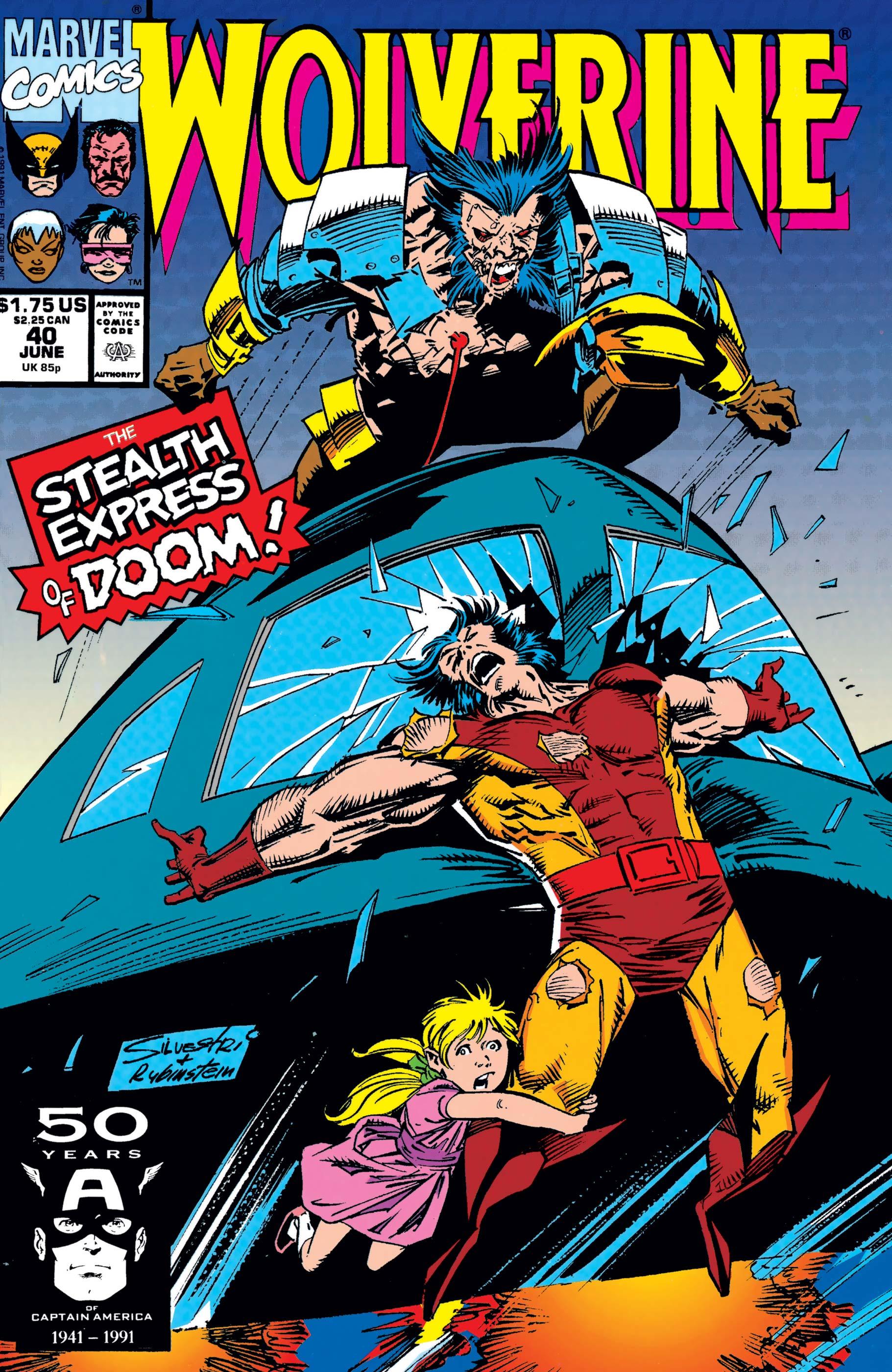 Wolverine (1988) #40