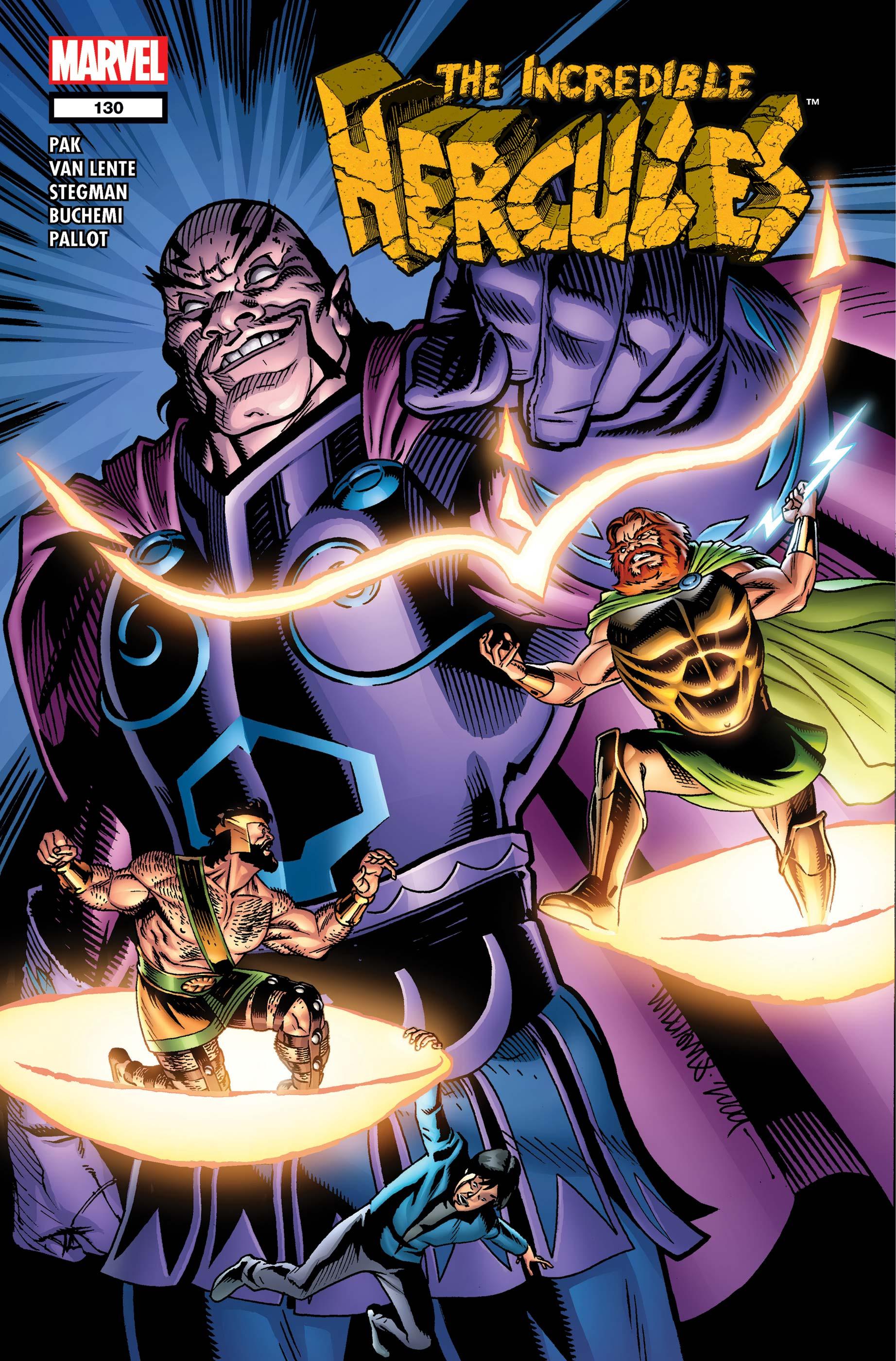 Incredible Hercules (2008) #130
