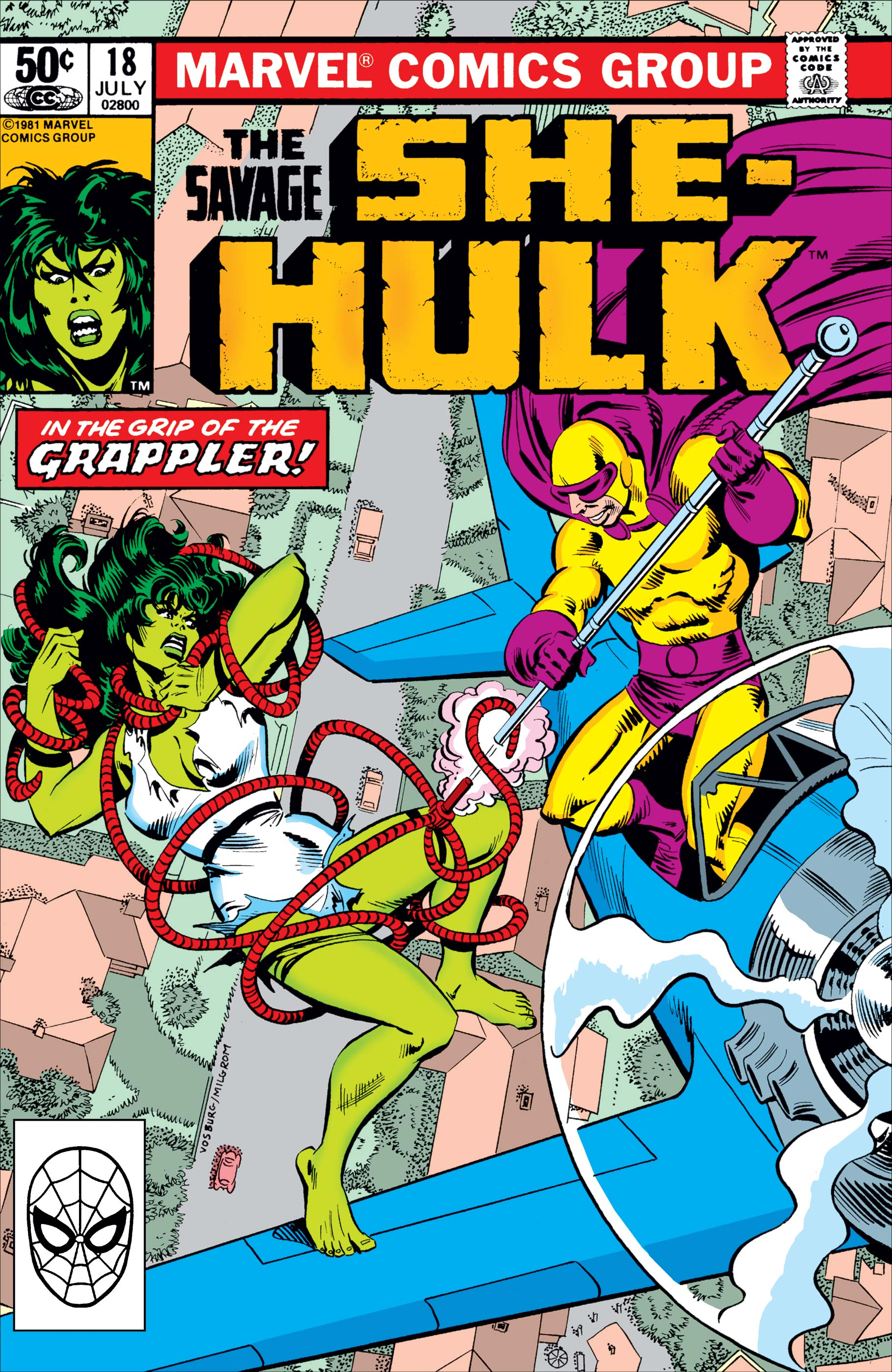 Savage She-Hulk (1980) #18