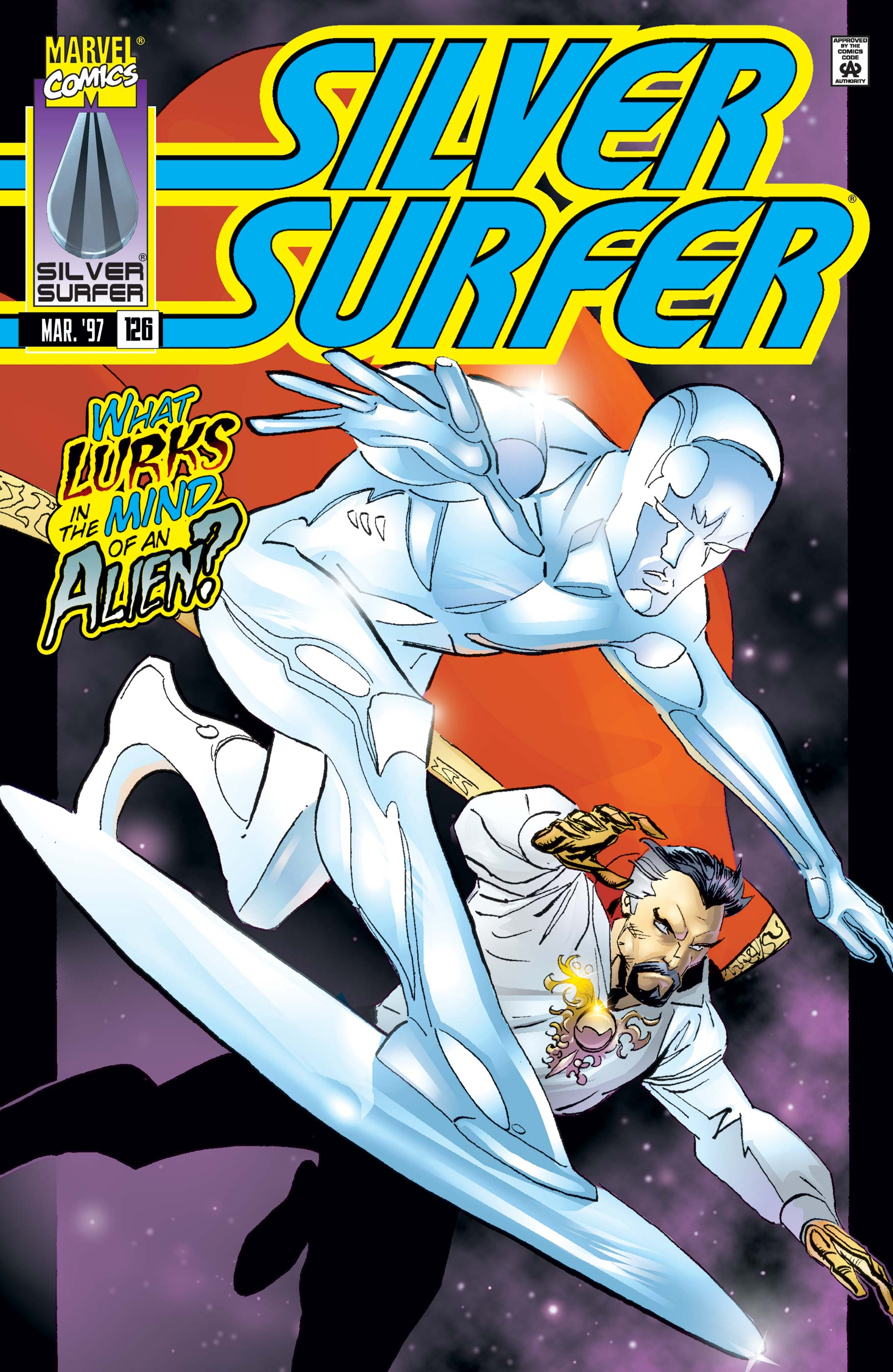 Silver Surfer (1987) #126