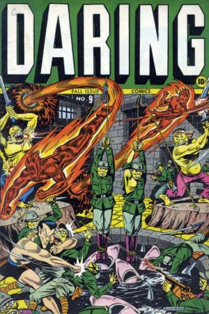 Daring Comics #9