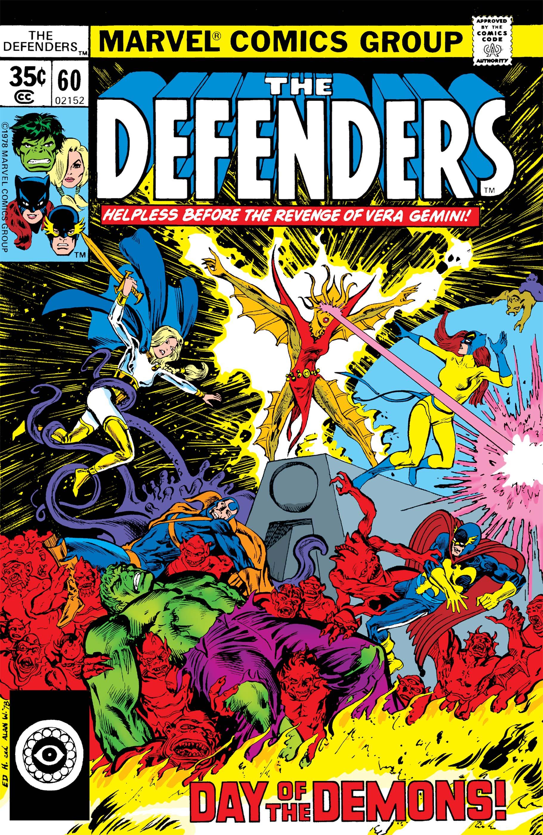Defenders (1972) #60