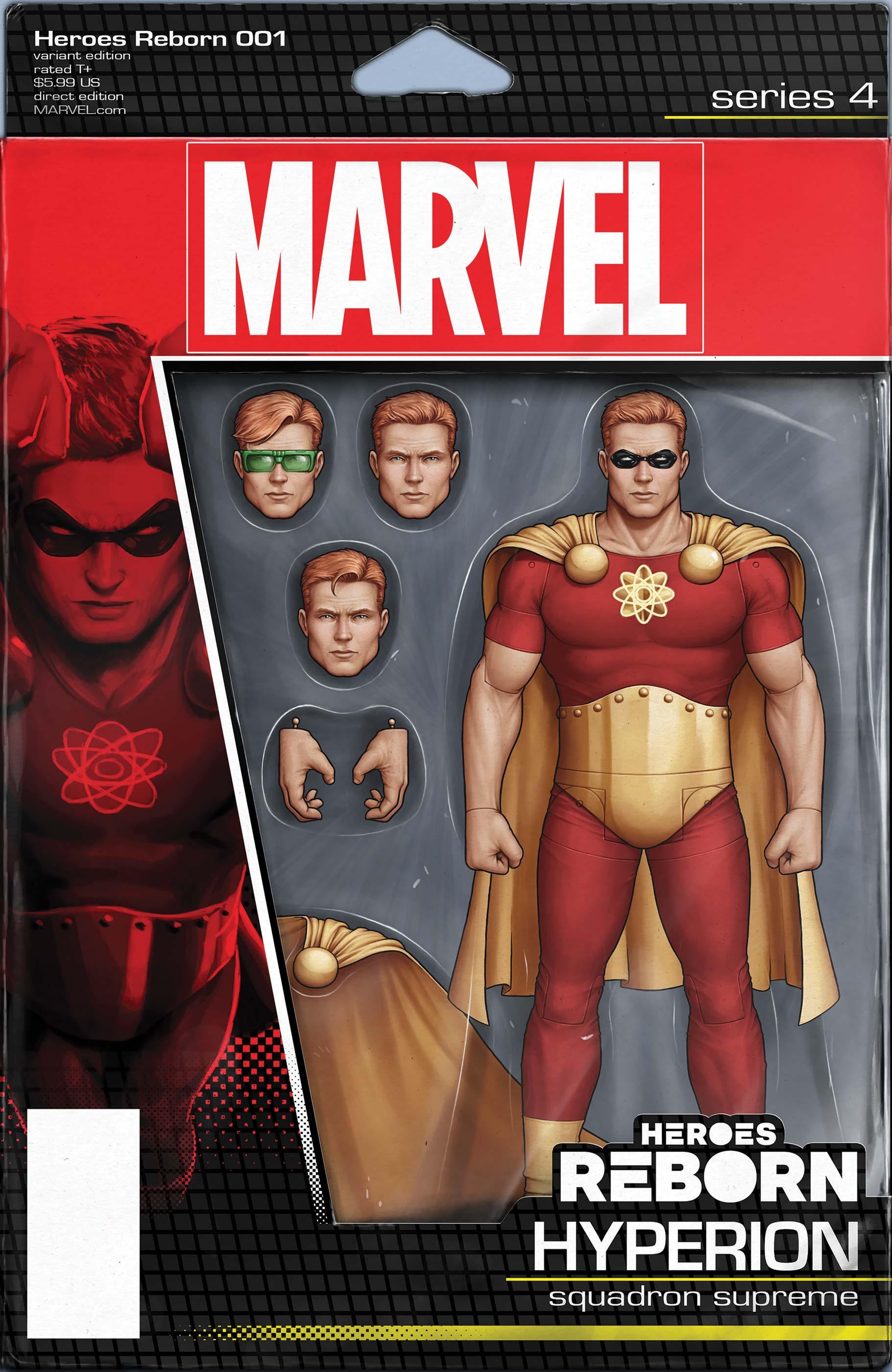 Heroes Reborn (2021) #1 (Variant)