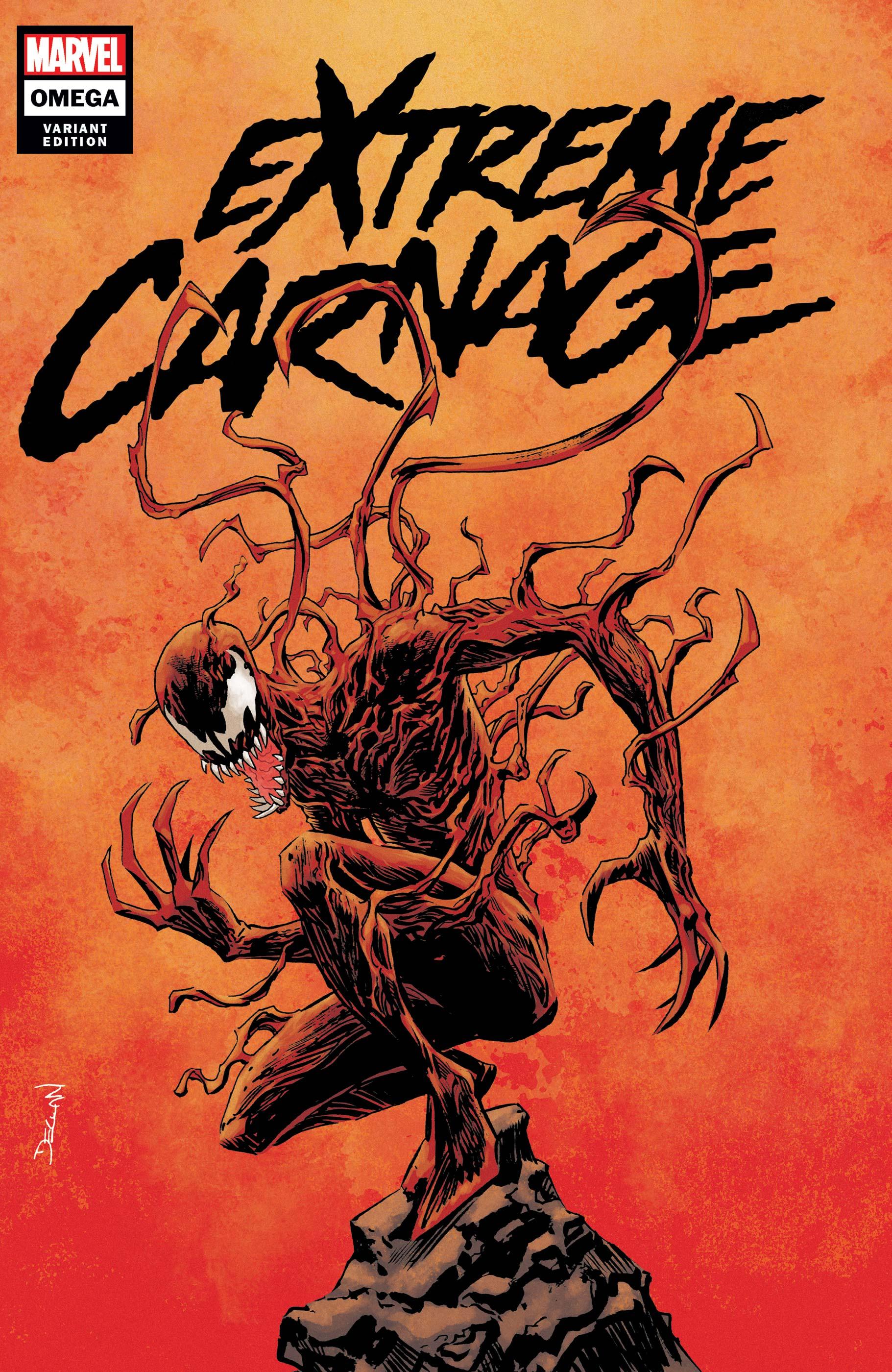 Extreme Carnage Omega (2021) #1 (Variant)