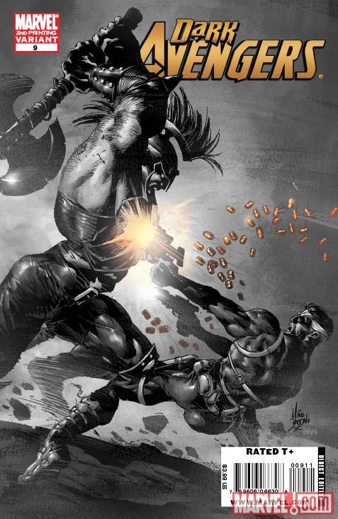 Dark Avengers (2009) #9 (2nd Printing Variant)