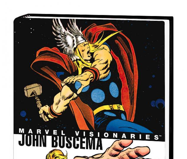 Marvel Visionaries: John Buscema (Hardcover)