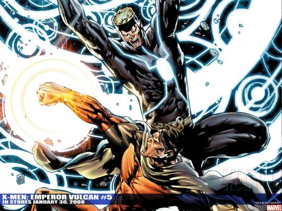 X-Men: Emperor Vulcan (2007) #5 Wallpaper