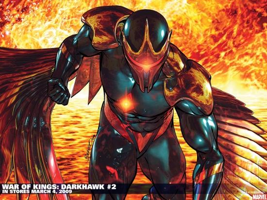 WAR OF KINGS: DARKHAWK #2