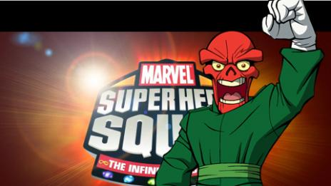 Marvel Super Hero Squad: The Infinity Gauntlet Red Skull Spotlight