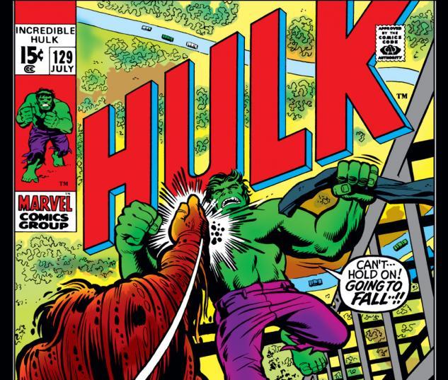 Incredible Hulk (1962) #129 Cover