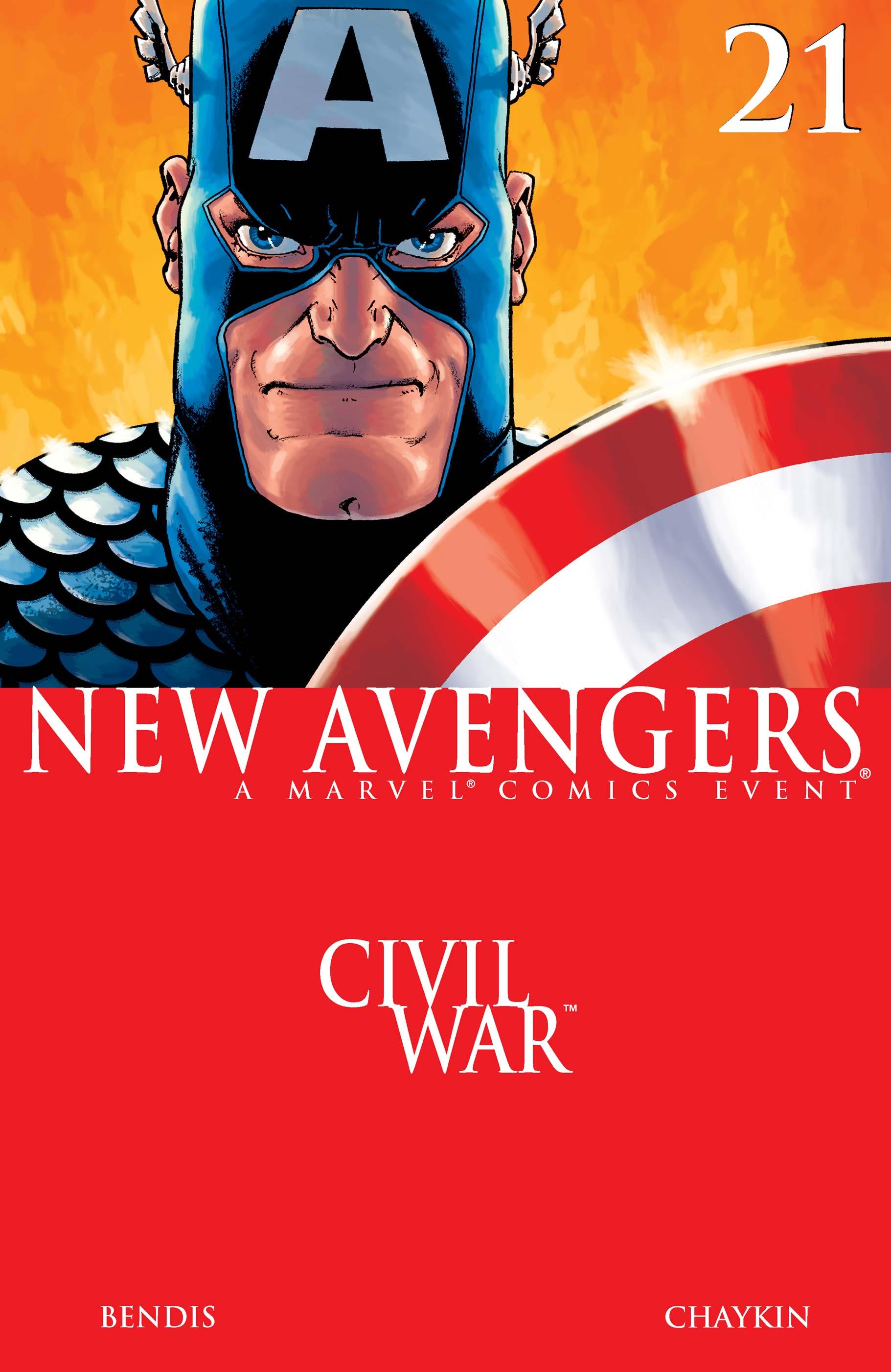 New Avengers (2004) #21
