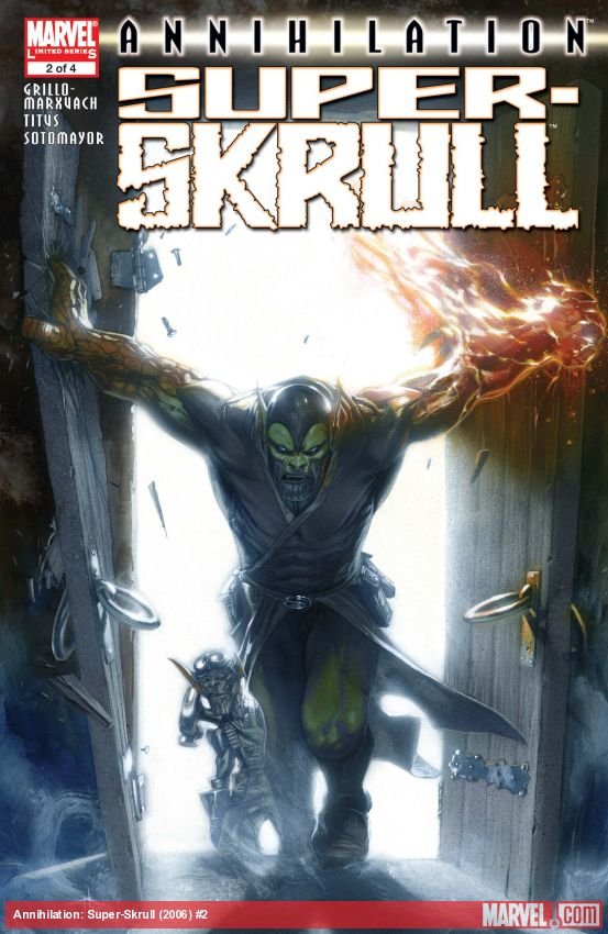 Annihilation: Super-Skrull (2006) #2