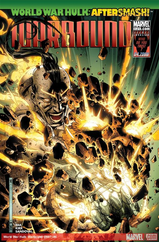 World War Hulk: Warbound (2007) #4