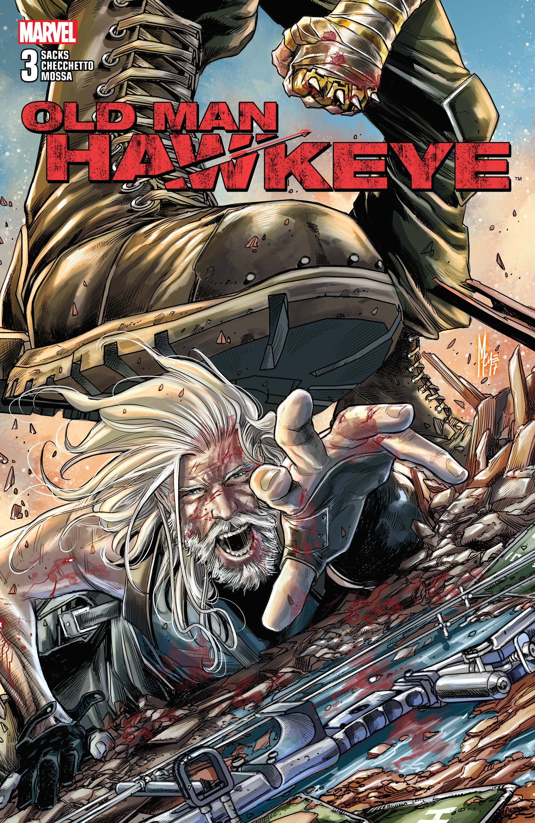 Old Man Hawkeye (2018) #3