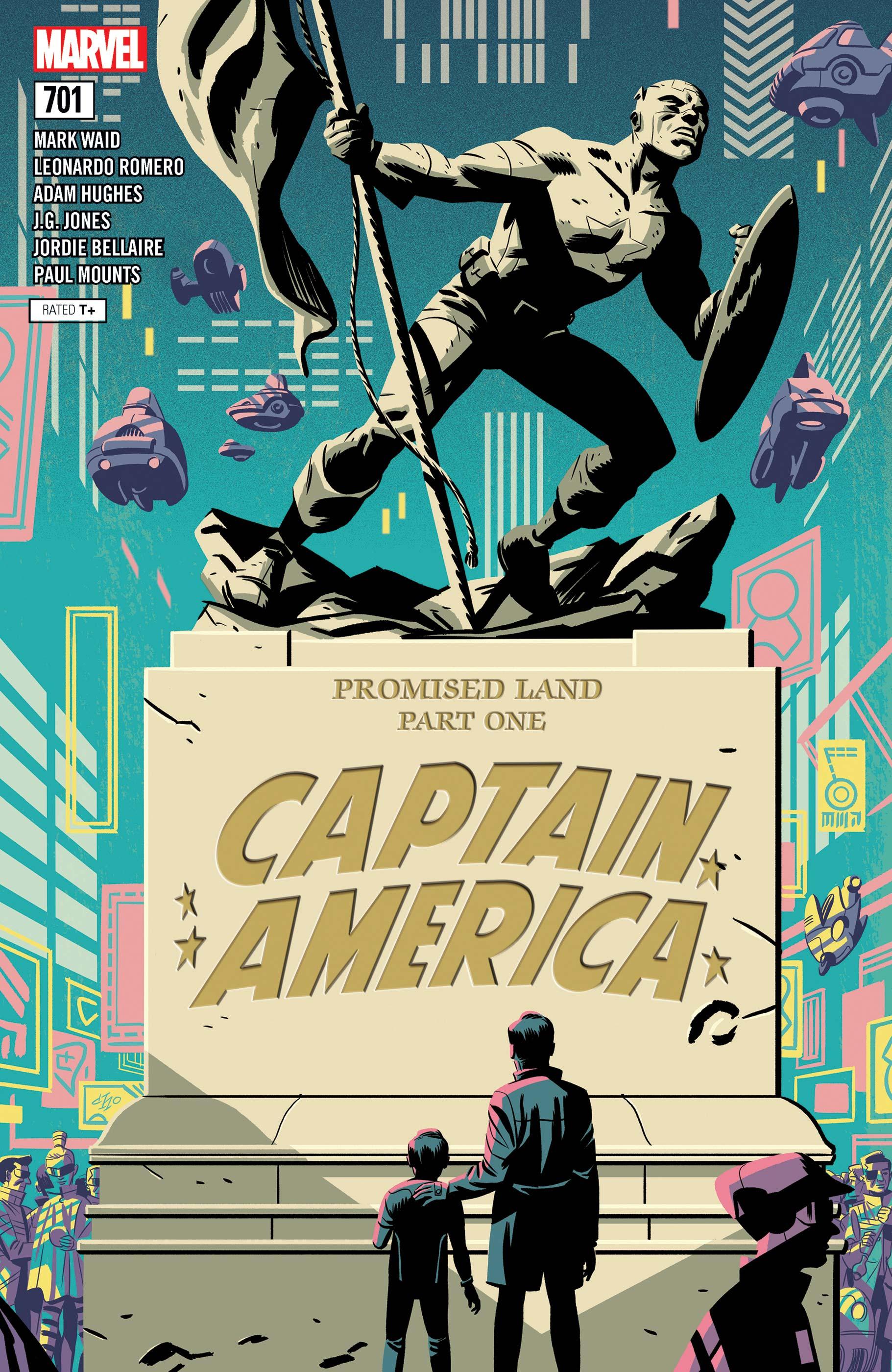 Captain America (2017) #701